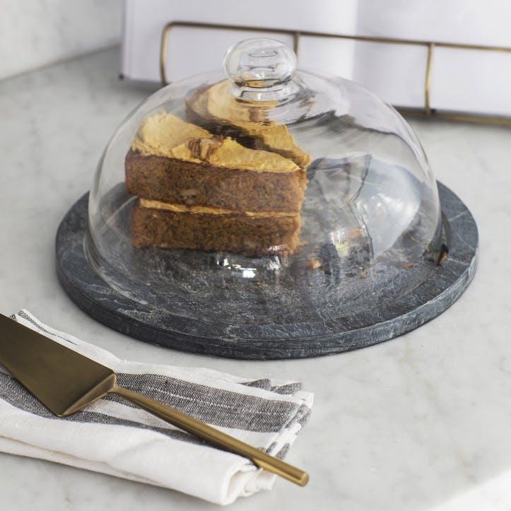 Brompton Cake Dome, Slate