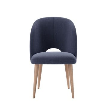 Darcy Dining Chair, Uniform House Plain Weave