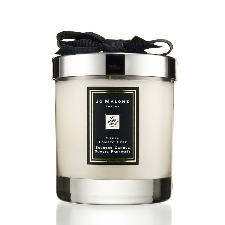 Home Candle Green Tomato Leaf