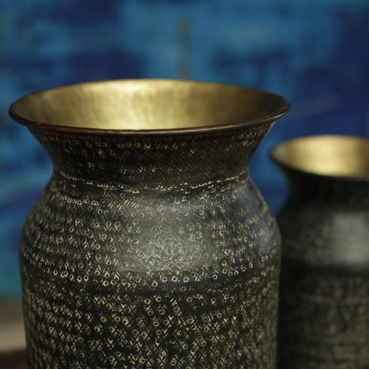 Dando Brass Pot - Large