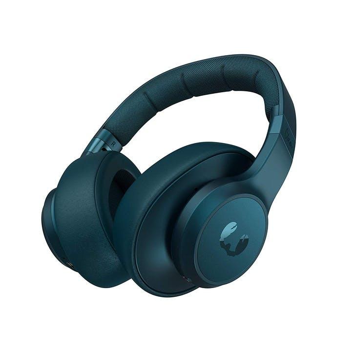 Clam BlueTooth Headphones; Petrol Blue