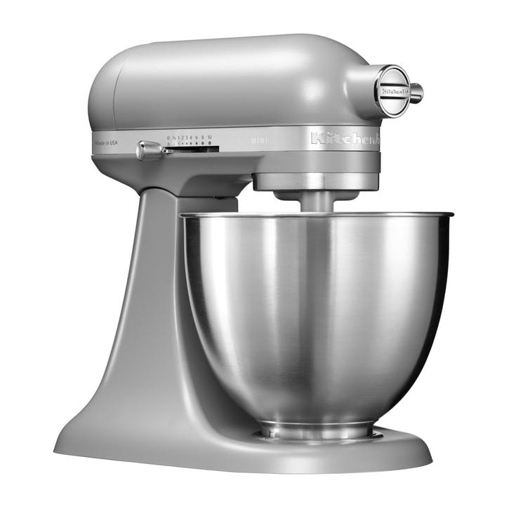 Mini Stand Mixer, Matte Grey, 3.3L