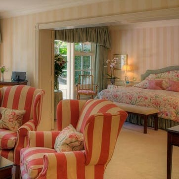 A voucher towards a stay at Chewton Glen Hotel for two, Hampshire