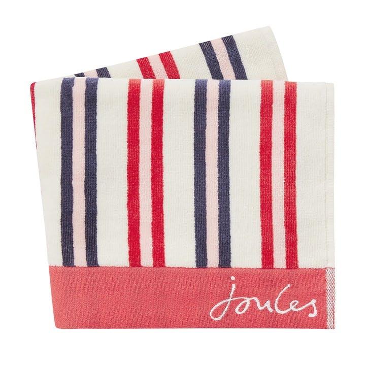 Dawn Shadow Stripe Bath Towel