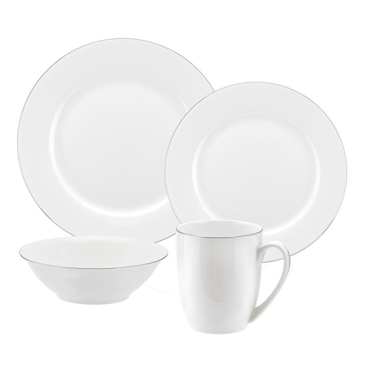 Serendipity 16 Piece Set; Platinum