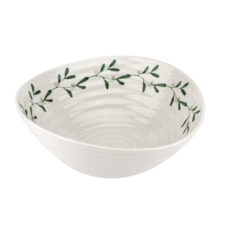 Mistletoe Bowls, Set of 4