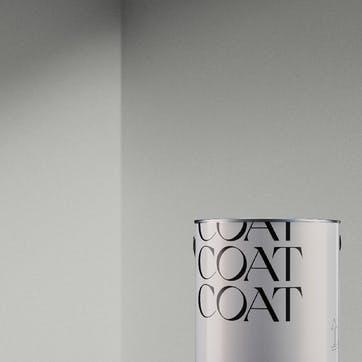 Flat Matt Wall & Ceiling Paint, Sweatpants Pale Grey 2.5L