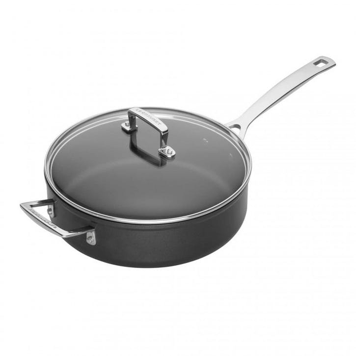 Toughened Non-Stick Sauté Pan With Lid - 26cm