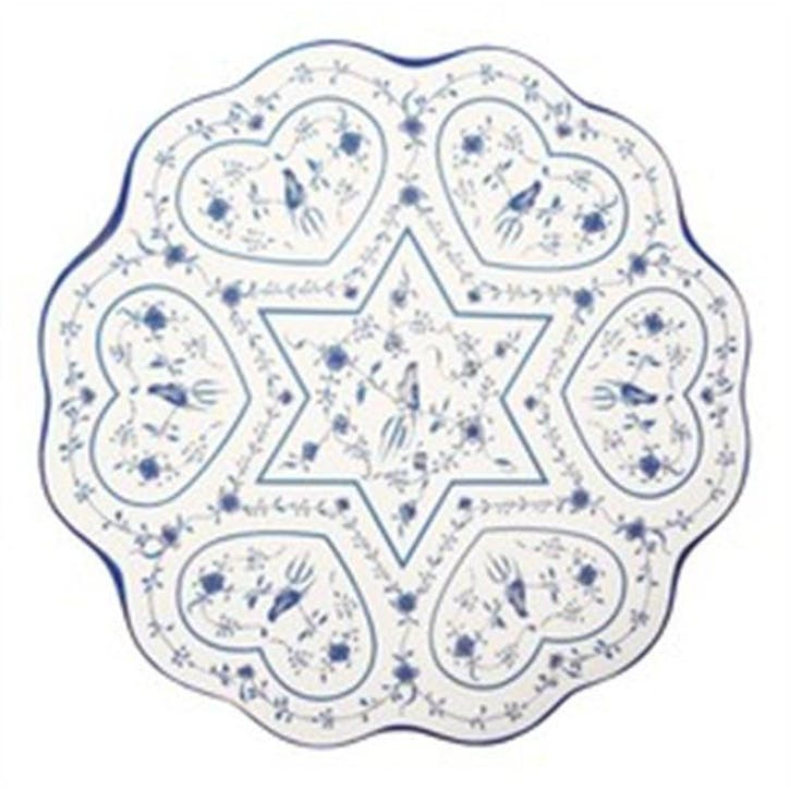 Hearts Seder Plate