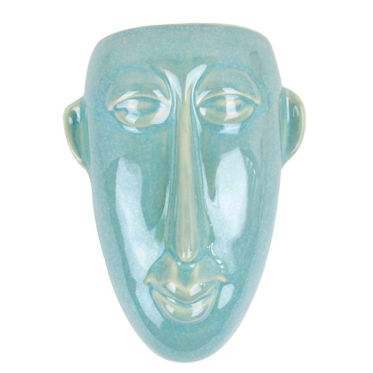 Wall Mounted Oval Mask Planter