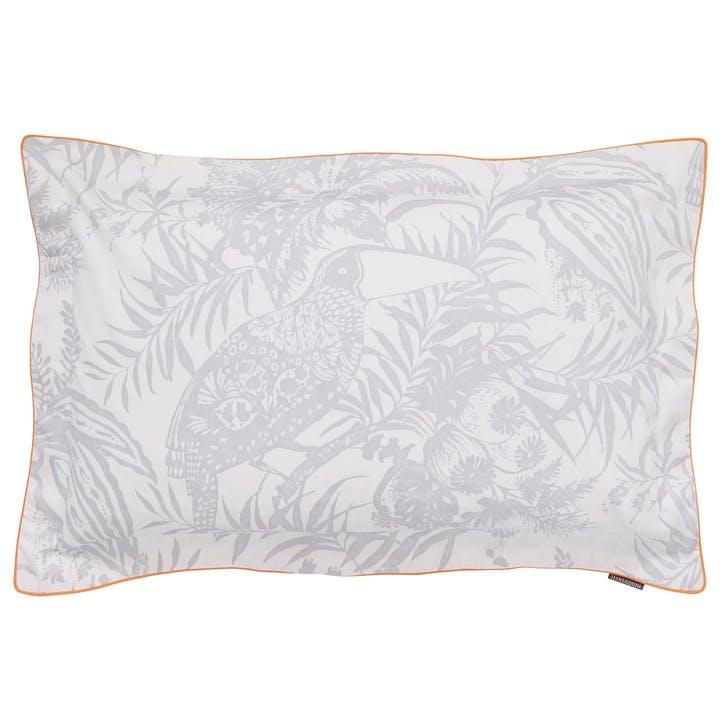 Toco Oxford Pillowcase, Silver