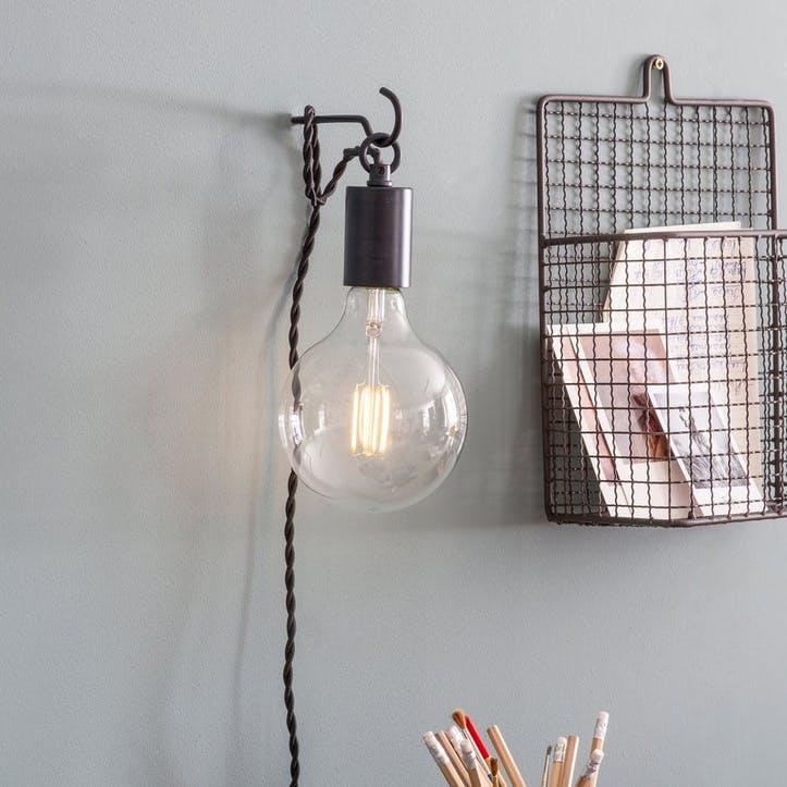 Soho Wall Light, Carbon