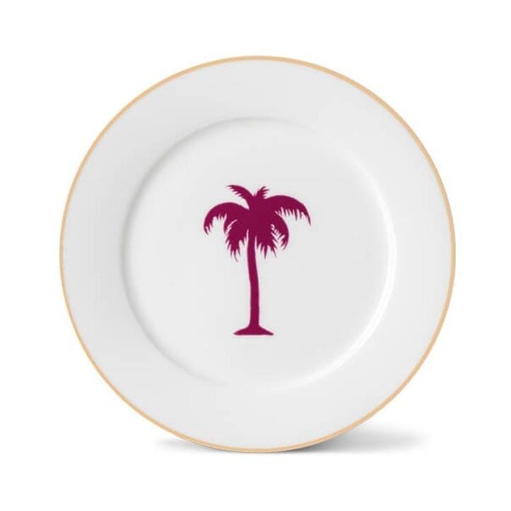 Palm Tree Side Plate