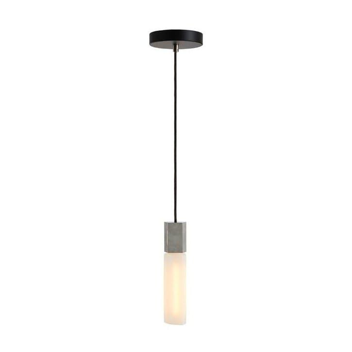 Basalt  Single Pendant & Bulb L300 x D5cm Steel