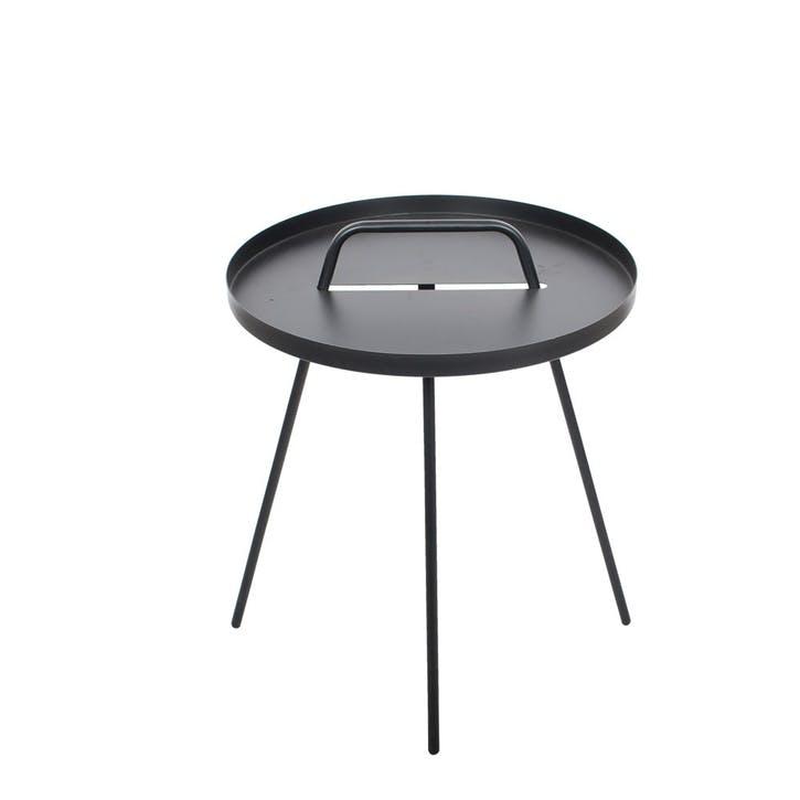 Emile Side Table, Black