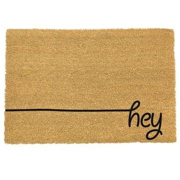 Hey Scribble Doormat