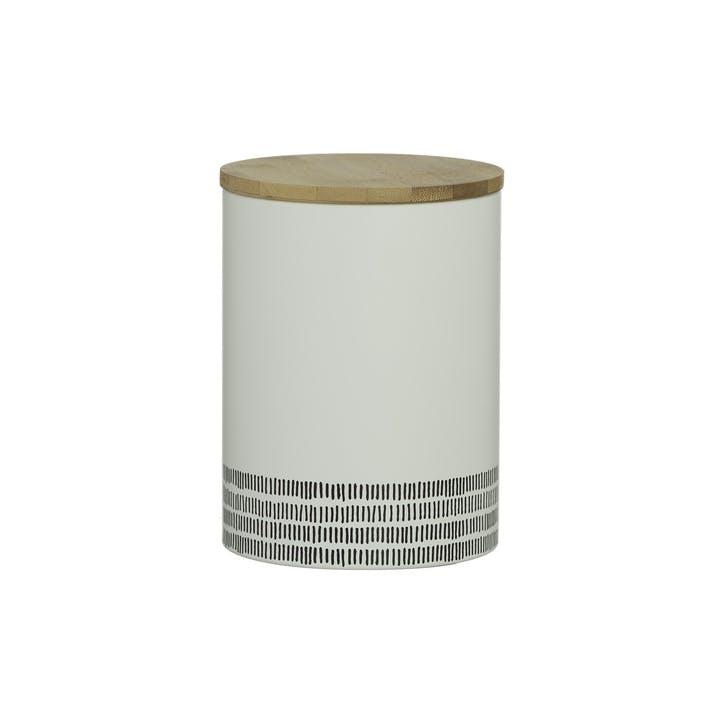 Monochrome Large Storage Jar