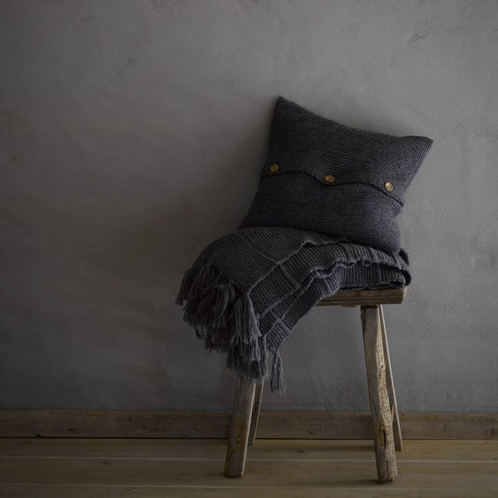 Agnes Throw, Charcoal