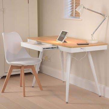 Skala Smart Desk, Beige/Natural
