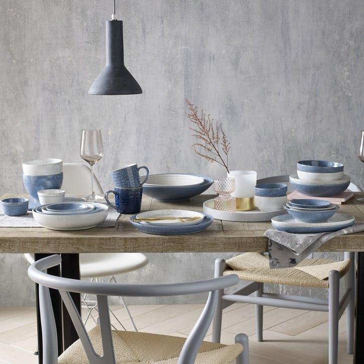 Studio Blue Flint Oval Platter
