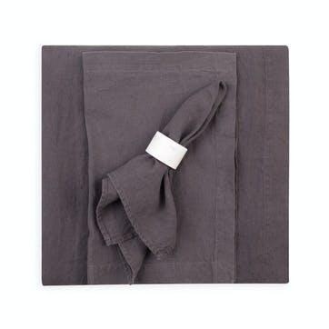 Linen Tablecloth, Slate