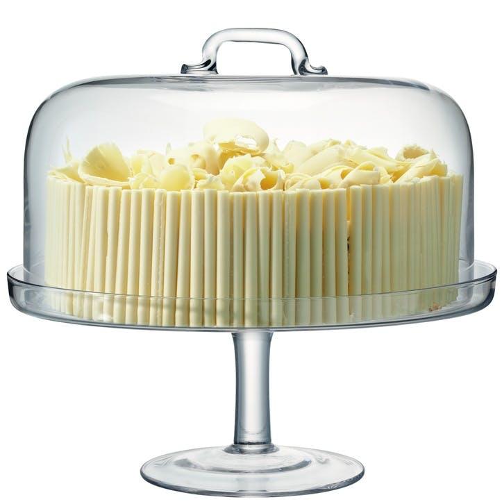 LSA Serve Cake Stand & Dome 32cm