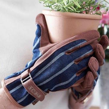 Striped Gardening Gloves