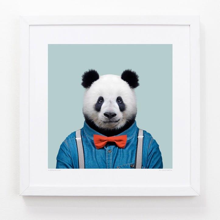 Zoo Portrait Giant Panda, 33cm x 33cm