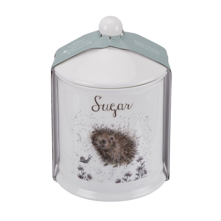 Wrendale Sugar Canister; Hedgehog