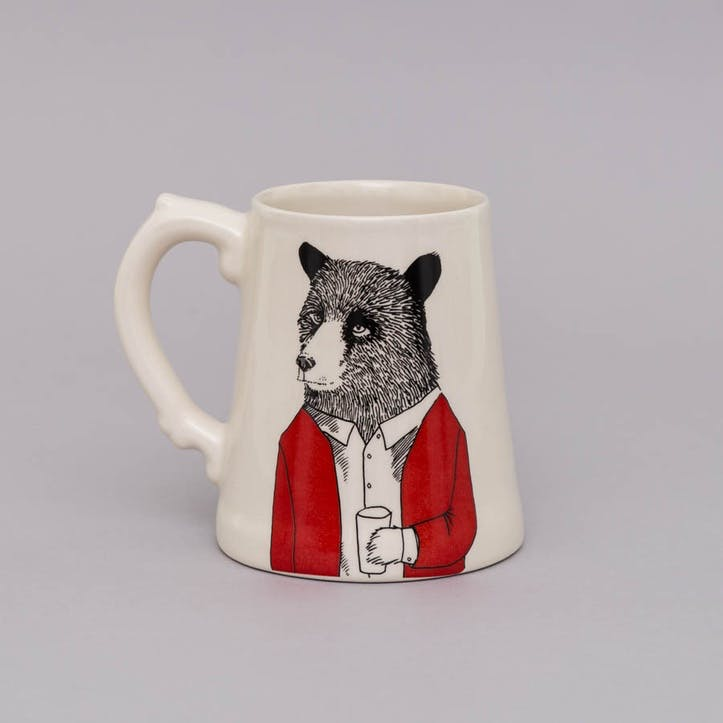 'Mr Bear' Beer Tankard