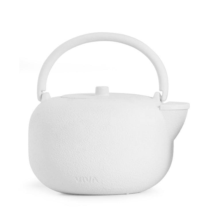 Saga Teapot, White