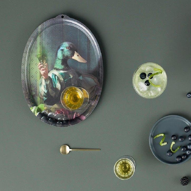 Galerie de Portraits Oval Tray, Achille