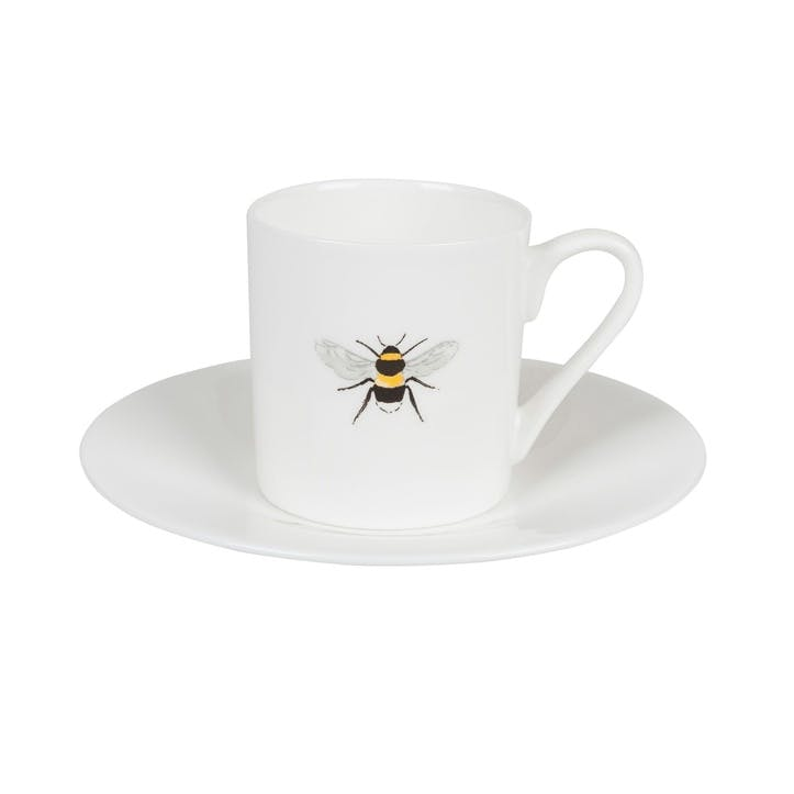 'Bees' Espresso Cup & Saucer