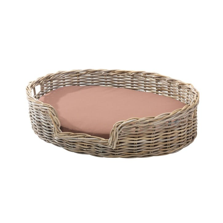 Rattan Kubu Dog Basket - Medium
