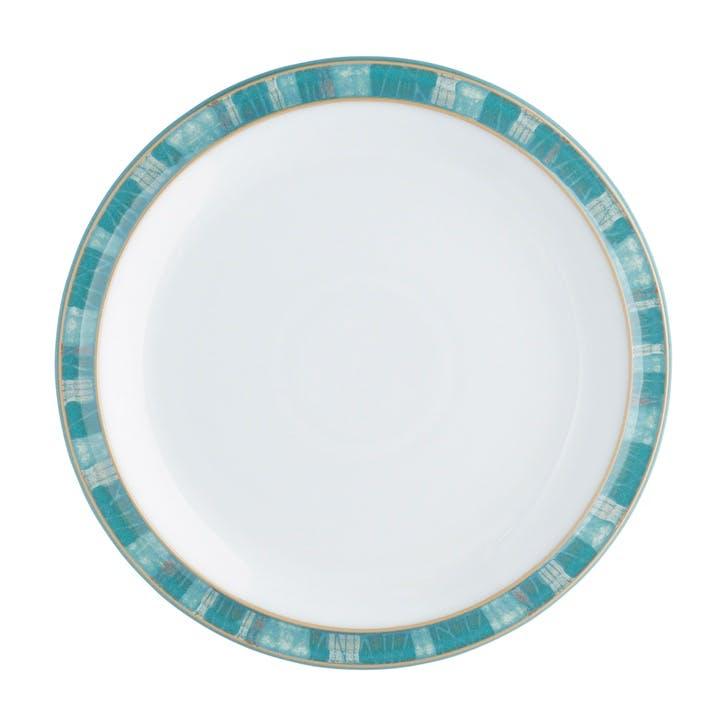 Azure Coast Dinner Plate, 26.5cm, Blue