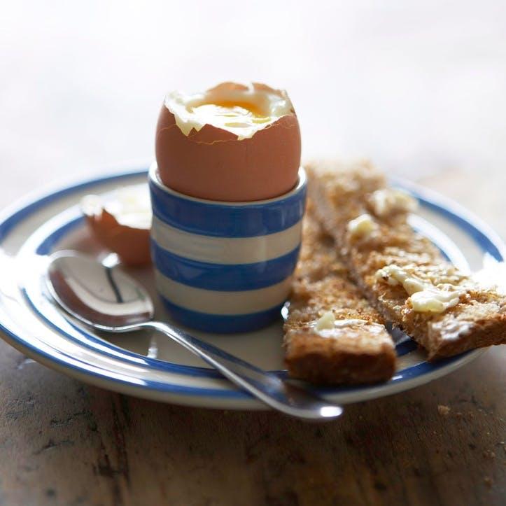 Cornish Blue Egg Cups, Set of 4