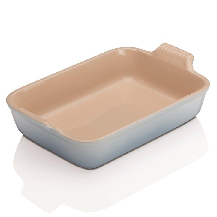 Stoneware Rectangular Dish - 32cm; Coastal Blue