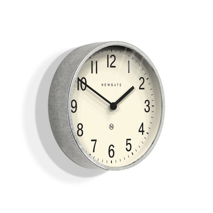 Master Edwards Wall Clock, D30cm, Steel
