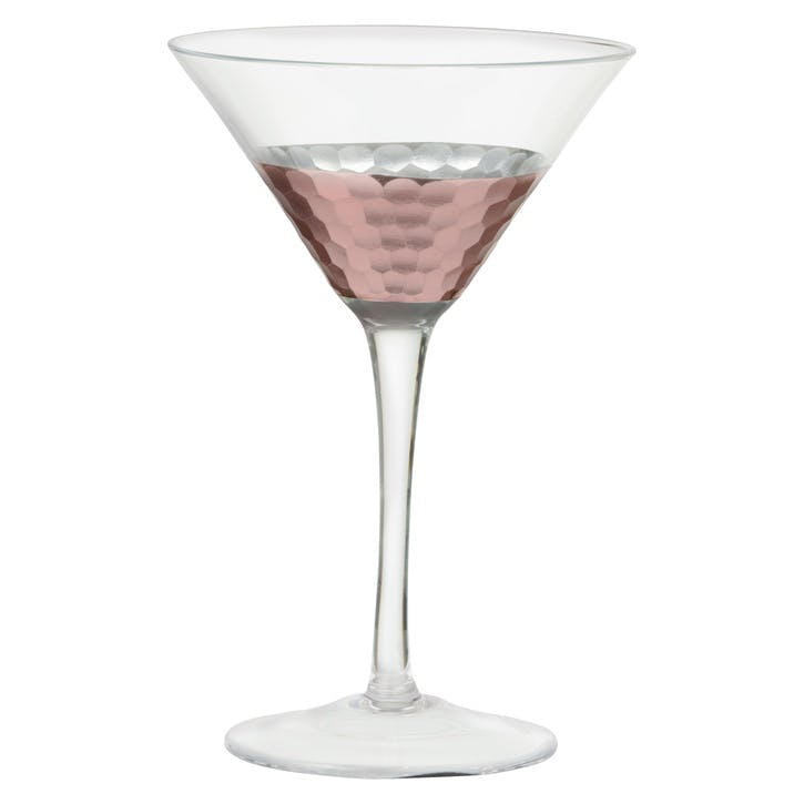 Coppertino Martini Glass