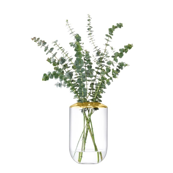Space Vase - 25cm; Gold