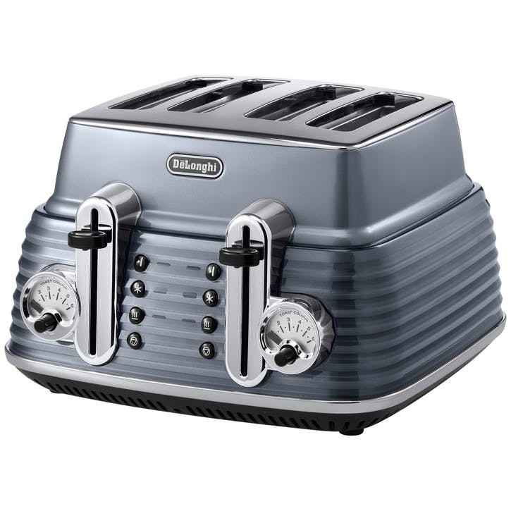 Scultura Toaster 4 Slice Grey