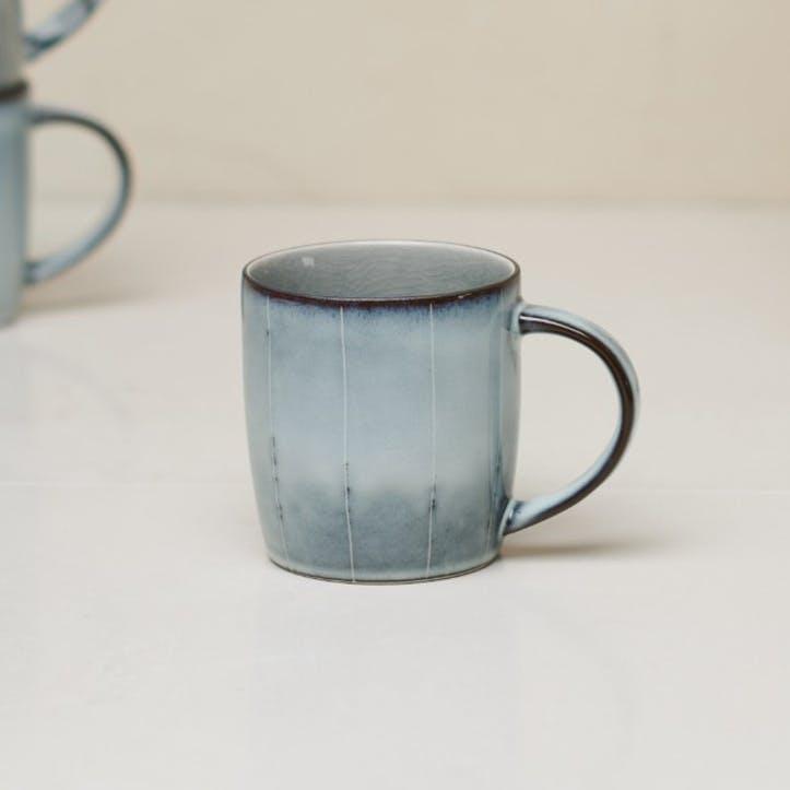 Bao Handled Mug; Grey