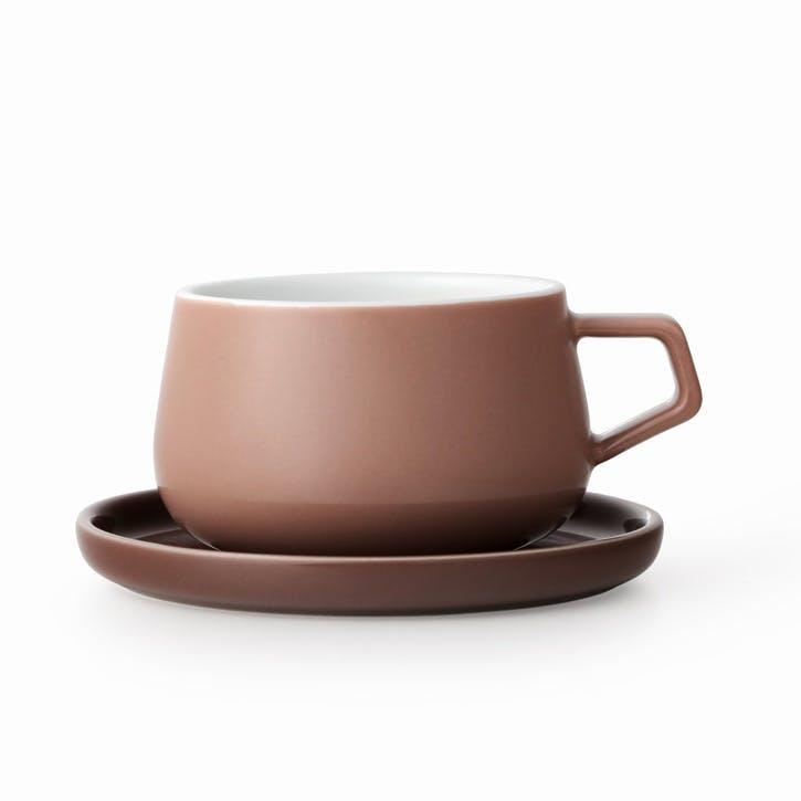 Ella Tea Mug, Powder Brown