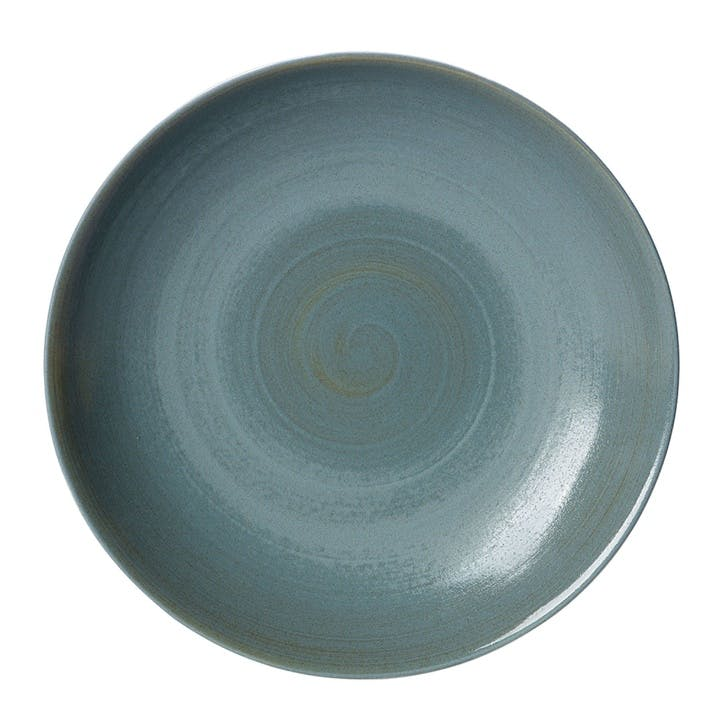 Studio Glaze Coupe Serving Bowl - 30cm; Ocean Whisper