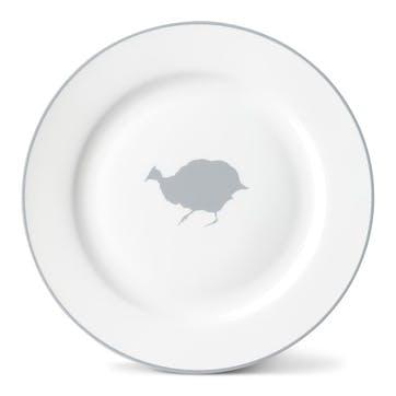 Guinea Fowl Side Plate