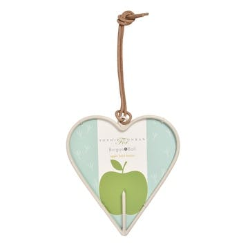 Apple Bird Feeder, Heart