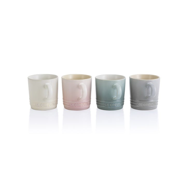 Calm Collection Capp Mugs, Set of Four