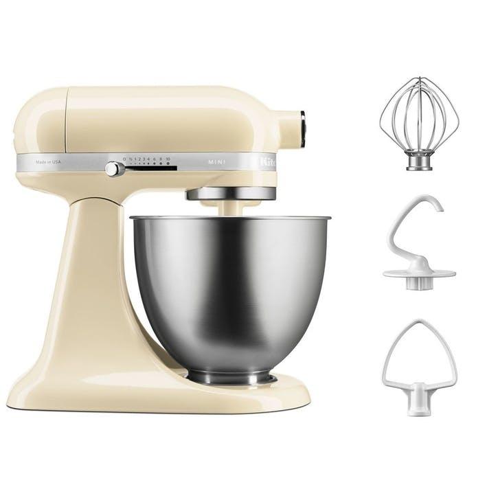 Mini Stand Mixer, Almond Cream, 3.3L