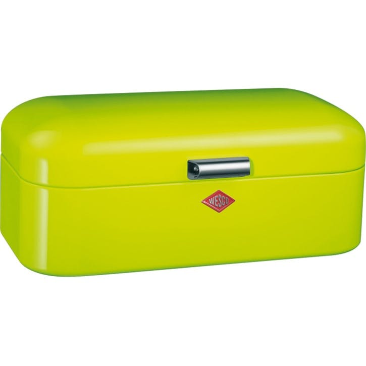 Grandy Bread Bin, Lime Green