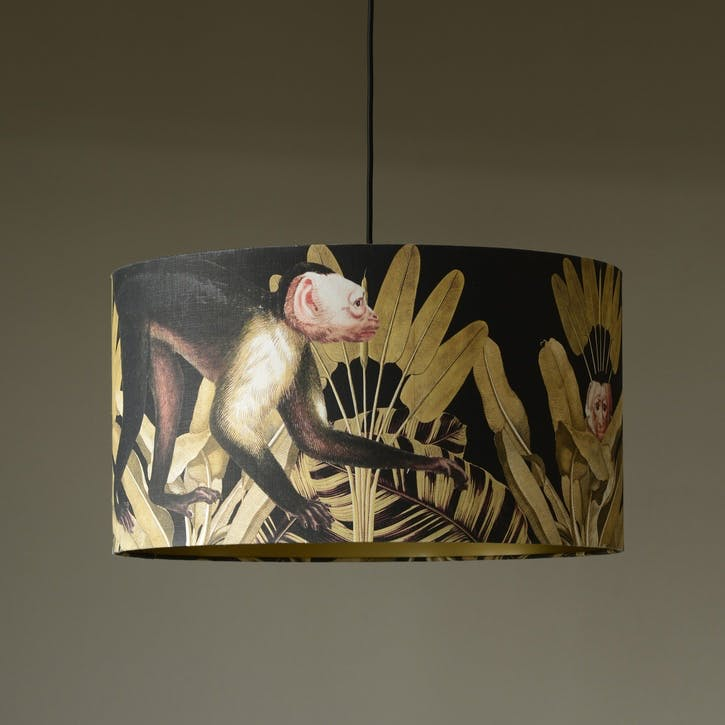 Monkey Drum Pendant Lamp